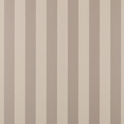 Бумажные обои в широкую вертикальную полоску светло-коричневого цвета LILLE (Truffle)
