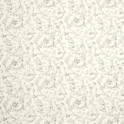 Хлопковая ткань с цветочным рисунком светло-серого цвета IRONWORK (Dove Grey)