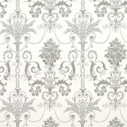 Бумажные обои с роскошным рисунком темно-серого цвета JOSETTE (Charcoal)