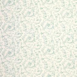 Хлопковая ткань с цветочным рисунком светло-голубого цвета IRONWORK (Duck Egg)