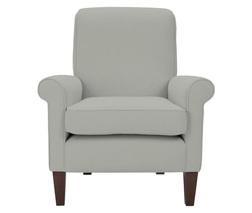 Кресло в ткани светло-серого цвета EMERY CHAIR 90*82*85 (Band C/Dawson Dove Grey)