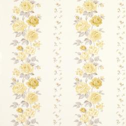 Бумажные обои в цветы желтые цветы CLARISSA (Camomile)