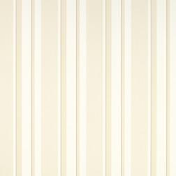 Бумажные обои в вертикальную полоску светло-бежевого цвета EATON STRIPE (Linen)
