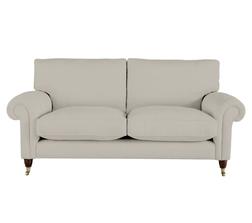 Мягкий диван в светло-серой ткани KINGSTON 2ST 92*190*98 (BAND D/Edwin Dove Grey)