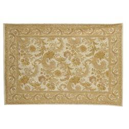 Ковер золотистого цвета в восточном стиле BAROQUE 170*240 (Gold/Ivory)