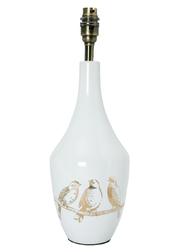 База для настольной лампы с золотистым рисунком NIGHTINGALE