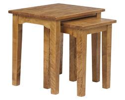 Набор маленьких столиков цвета натурального дуба GARRAT NEST OF2 TBLS 52*53*42 (Oak)