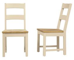 Набор стульев светло-бежевого цвета OAKHAM DINING CHAIR PAIR 95*47,5*54,5 (Oak)