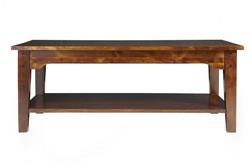 Длинный кофейный столик  GARRAT DRK RECT.COFFEE TABLE 45*118*66 (Chestnut)