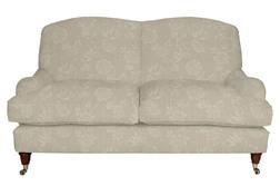 Удобный английский диван в ткани с цветочным рисунком RICHMOND 2ST 92*160*96 (Band B/Ashino Natural)
