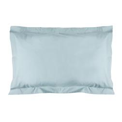 Набор из двух прямоугольных наволочек из хлопка нежно-голубого цвета PLAIN DYE Pair 50*75 (Duck Egg)