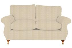 Широкий диван в светлой ткани HARROGATE LGE 2STR 92*196*93 (BAND E/Belmont Natural)