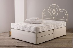 База для двойной кровати DIVAN 5FT SPRG EDG 2DRW 36*150*200 (Linen)