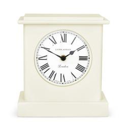 Стильные настольные часы кремового цвета OFFICERS MANTEL 20,5*22,5*10,5 (Cream)