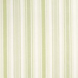 Штора без подкладки из хлопка и льна в вертикальную полоску AWNING STRIPE pair 200*280 (Apple)