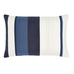 Декоративная подушка в синюю и белую полоску CATALINA 40*60 (Royal Blue)