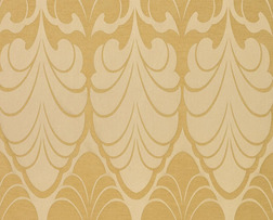 Готовая штора с крупным рисунком золотистого цвета ALEXANDER pair 200*280 (Gold)
