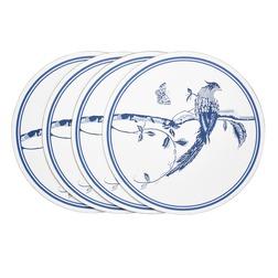Набор круглых подставок под посуду SUMMER PALACE  SET OF 4 PLACEMATS 0,5*24 (Royal Blue)