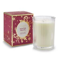 Ароматическая свеча в подарочной упаковке WINTER FRUITS BOXED 9,5*7,5*7,5 (Red)