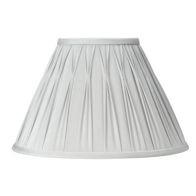 Абажур классической формы серебристого цвета 12 FENN (Silver)