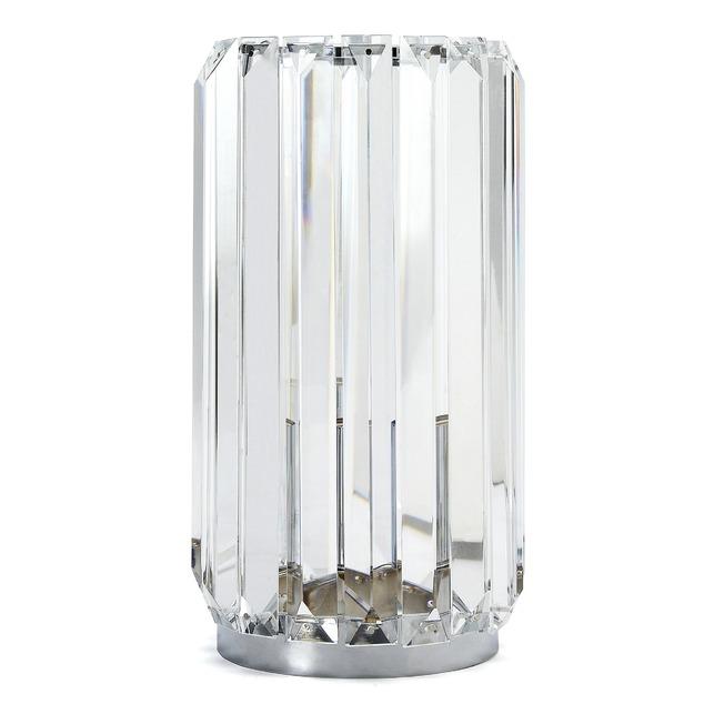 Лампа цилиндрической формы из металла и стекла MARNI CRYSTAL 37*16 (Metal/Glass)