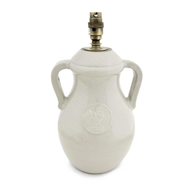 База для настольной лампы в виде вазы LOXHILL 38*20 (Natural)