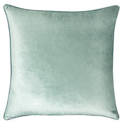 Плюшевая подушка голубого цвета NIGELLA 50*50 (Duck Egg)