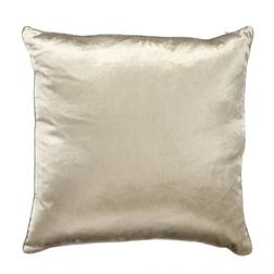 Плюшевая декоративная подушка бежевого цвета NIGELLA 50*50 (Natural)
