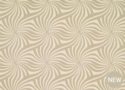 Гардинная ткань с крупным рисунком CURZON (Natural)