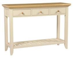 Консольный столик светло-кремового цвета OAKHAM CONSOLE TABLE 3DRW 80*100*35,5 (Oak)