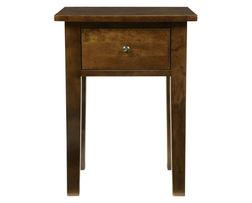 Тумбочка каштанового цвета на длинных ножках GARRAT BEDSIDE TABLE 60*45*40 (Chestnut)