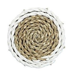 Набор подставок под чашку круглой формы SEAGRASS SET OF 4 COASTERS (Natural)
