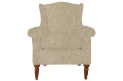 Удобное кресло в ткани светло-бежевого цвета FINCHLEY WING 101*80*85 (BAND C/Raddison Natural)