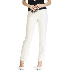 Женские брюки со стрелками цвета слоновой кости TR 837