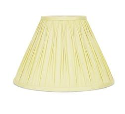 Классический абажур нежно-желтого цвета со складками 12 FENN SHADE Ø30,5 (Camomile)