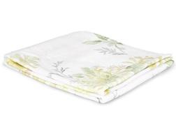 Большое банное полотенце кремового цвета с цветочным принтом HONEYSUCKLE  100*150 (Camomile)
