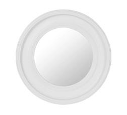 Круглое зеркало в раме светло-серого цвета ALENA ROUND Ø68  (Grey)
