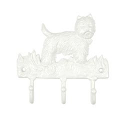 Металлическая вешалка в форме собачки HUNTERHILL WALL HOOK 20*21 (Off White)