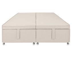 База для двойной кровати в светлой ткани DIVAN 5FT OTTOMAN 42*150*200 (Linen)