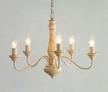 Люстра с деревянным каркасом MILNSBRIDGE 5 LIGHT (Cream)