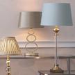 База для настольной лампы из металла и стекла ARLINGTON (Clear)