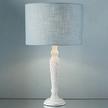База для настольной лампы с эффектом состаривания MARLOW TWISTED WOOD 39*12 (Cream)