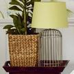 Стильная база для настольной лампы в виде клетки для птиц WHITSTABLE METAL (Brass)
