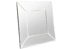 Квадратное зеркало в зеркальной раме GATSBY SQUARE 90*90
