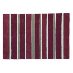 Полосатый ковер красного цвета BEXLEY STRIPE 120*180 (Cranberry)
