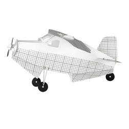 Люстра в детскую в форме самолета AEROPLANE 23*50*53 (Graphite)