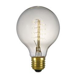 Декоративная лампочка для люстры E27 GLOBE BULB 10*5,5 (Clear)
