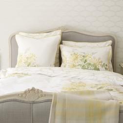 Набор постели с одинарным пододеяльником в цветы HONEYSUCKLE  SG 137*200, 50*75 set of-1 (Duck Egg )