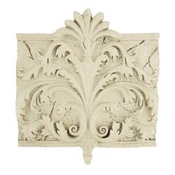 Настенный декор кремового цвета ANTIQUE STYLE WALL PLAQUE 33*37*4 (Cream)