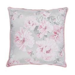 Декоративная подушка в розовые цветы BEATRICE 45*45 (Cyclamen)